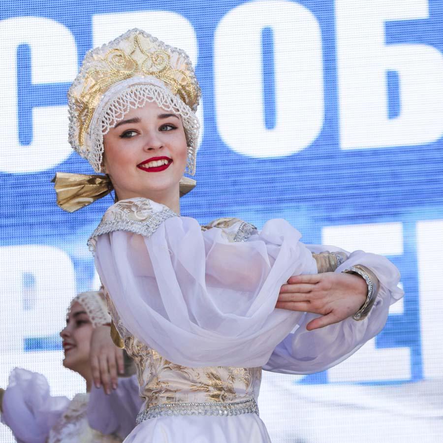 Концерт в честь присоединения Крыма (20 марта)